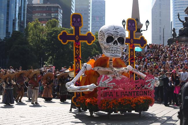 Day of Dead Parade Mexico City