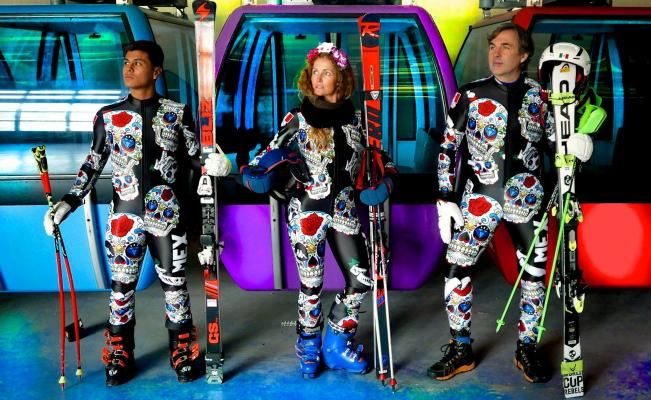 Mexican Skiers Uniforms